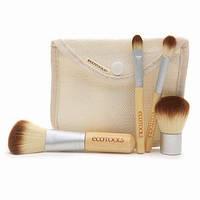 Набор кистей для макияжа ECOTOOLS 4 штуки в чехле