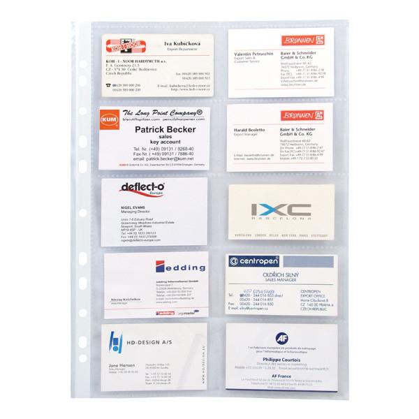 Файл для 20 визиток Axent 70 мкм (10 шт.) 2527-А