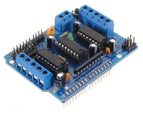 Плата розширення Arduino L293D