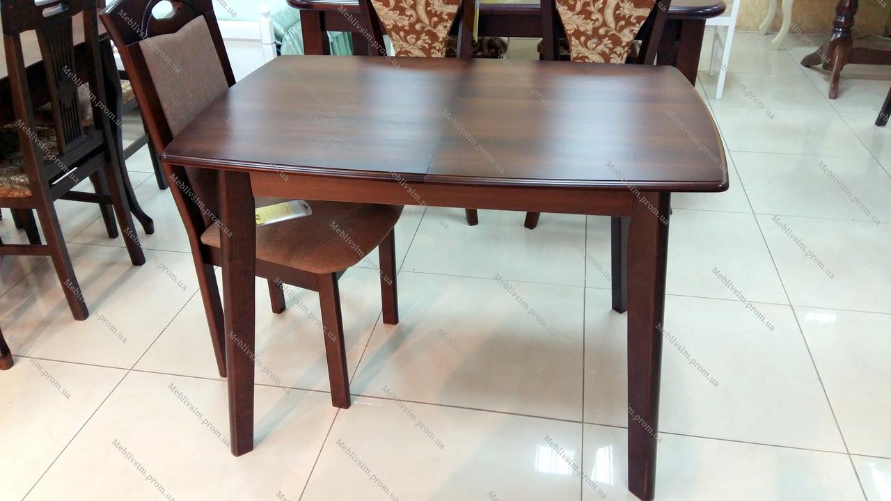Обеденный стол для маленькой кухни  Джаз Модуль Люкс, темный орех