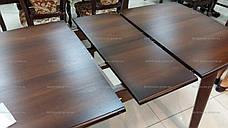 Обеденный стол для маленькой кухни  Джаз Модуль Люкс, темный орех, фото 3