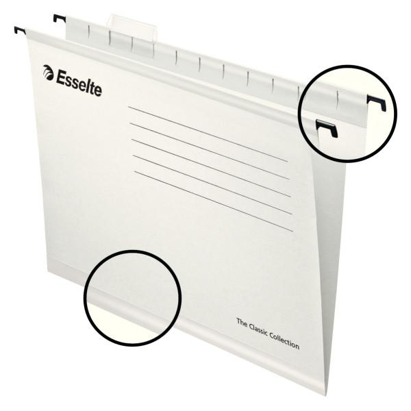 Підвісні папки Esselte Pendflex, білий, 25 шт. 90319