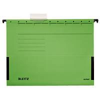 Підвісні папки Leitz Alpha c бічними обмежувачами, A4 , зеленый19860055