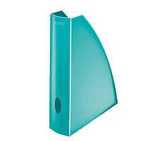 Вертикальный лоток A4 WOW, бирюзовый металлик52771051