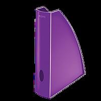 Вертикальный лоток A4 WOW, черничный металлик52771062
