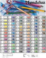 Карандаши акварельные MONDELUZ , 72 цвета 3720