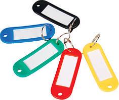Брелок д/ключів пластиковий 60*22мм, асортіE41637