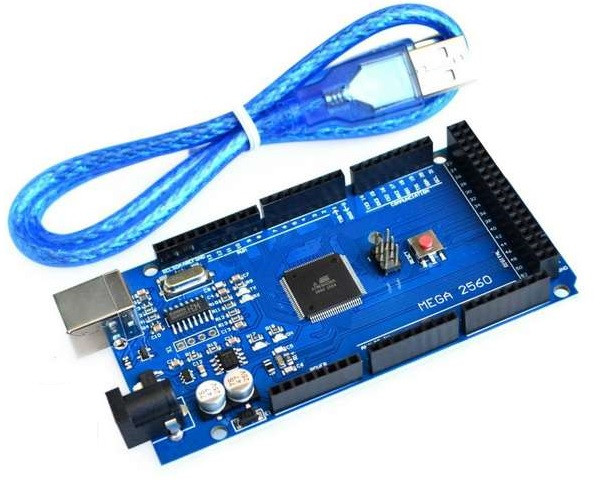 Arduino Mega 2560 r3 (Atmega2560) з кабелем підключення