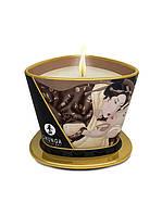 Массажная свеча с ароматом ванили, Shunga, 170 мл