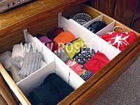 Органайзер для одягу - Expandable Dresser Drawer Dividers, фото 1