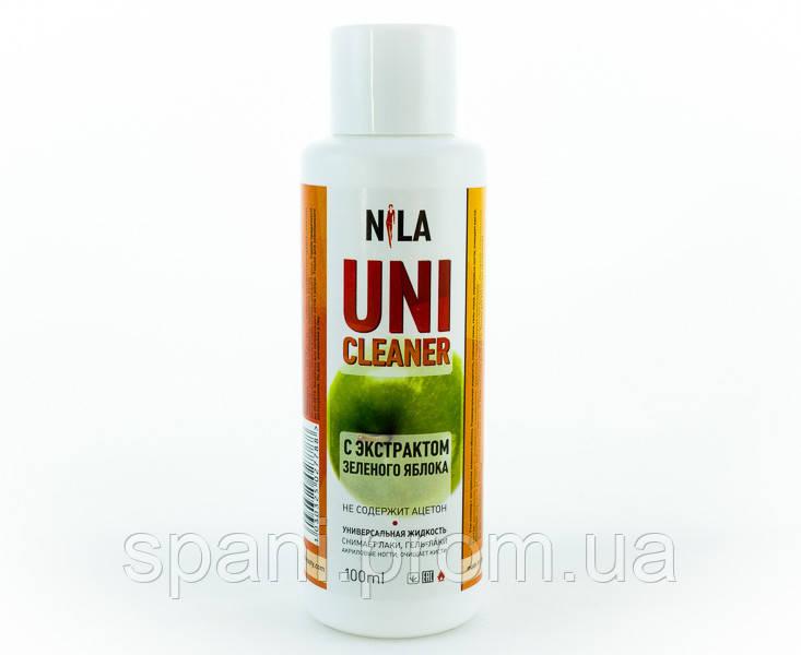 Nila Uni-Cleaner, средство для очистки Зеленое яблоко, 100 мл.