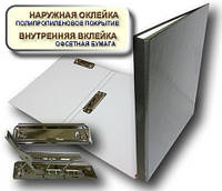 Папка с прижимом MINICLIP+CLIPBOARD 25мм А4 PP покрытие