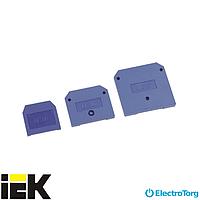 Заглушка для ЗНИ-35мм2 (JXB125A) синий ИЭК