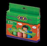 Крейда кольорова 6шт., JUMBO, картонна коробкаZB.6710-99