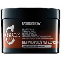 Маска тонирующая для темных волос Tigi Catwalk Fashionista Brunette 200мл