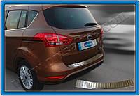 Накладка на задний бампер Ford B-Max (Omsa Line)