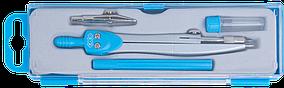 Готовальня BASIS 4 предмета, голубой, KIDS Line (ZB.5303BS-14)