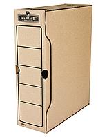 Бокс для архивації док. R-Kive Basics 100мм, коричн.f.91601