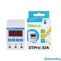 Терморегулятор на DIN-рейку для систем обогрева/охлаждения/вентиляции DTPro Tessla