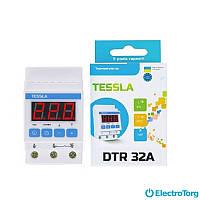 Терморегулятор на DIN-рейку для теплого пола DTR Tessla