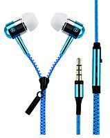 Наушники змейка с микрофоном c-803 ms