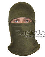 Балаклава (флис, зеленая) шапка-маска