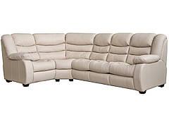 """Новий кутовий диван """"Ashley"""" (Ешлі) в шкірі"""