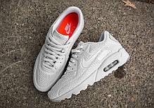Мужские кроссовки Nike Air Max 90 Ultra BR Pure White, Найк Аир Макс 90, фото 2