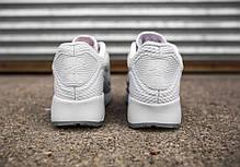 Мужские кроссовки Nike Air Max 90 Ultra BR Pure White, Найк Аир Макс 90, фото 3