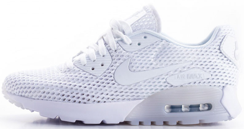 Мужские кроссовки Nike Air Max 90 Ultra BR Pure White, Найк Аир Макс 90