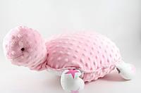 Черепаха-подушка розовая - 181002, фото 1