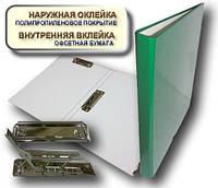Папка с прижимом MINICLIP+CLIPBOARD 25мм А4 PP покрытие зеленый