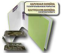 Папка с прижимом MINICLIP+CLIPBOARD 25мм А4 PP покрытие кремовый