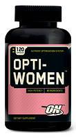 Витамины для женщин оптивумен Optimum Nutrition Optiwomen 120 таблеток opti-women