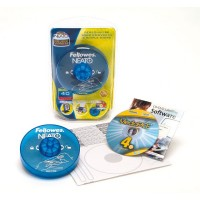 Матові етикетки з вкладинками NEATO для CDDVD дисків, 20 шткомпл.f.99922
