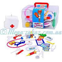 """Игровой набор доктора """"Чудо аптечка"""" с чемоданчиком: 28 предметов"""