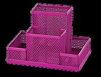 Прибор настольный Zibi 150x100x100мм, металлический, розовый, KIDS Line (ZB.3116-10)