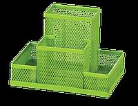 Прибор настольный Zibi 150x100x100мм, металлический, салатовый, KIDS Line (ZB.3116-15)