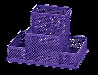 Прибор настольный Zibi 150x100x100мм, металлический, фиолетовый, KIDS Line (ZB.3116-07)