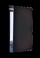 Папка A4 з боковим притиском JOBMAX, чорнийBM.3401-01