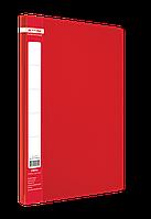 Папка A4 з боковим притиском JOBMAX, червонийBM.3401-05