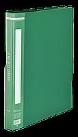 Папка A4 з боковим притиском, зеленийBM.3402-04