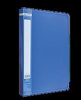 Папка A4 з боковим притиском JOBMAX, синійBM.3401-02