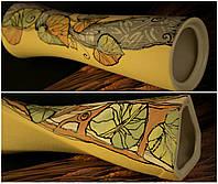 Большая керамическая ваза Лист кувшинки