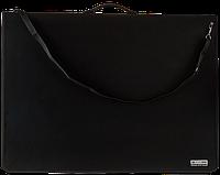 Папка-портфель пласт. PROFESSIONAL з 9 кільцями, A1, чорнийBM.3192-01