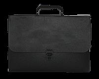 Портфель пласт на замку, JOBMAX, чорнийBM.3735-01