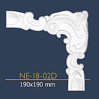 Уголок декор NE 18-02 (19*19) к Е -18 орнамент