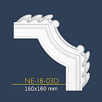 Уголок декор NE 18-03 (16*16) к Е -18 орнамент