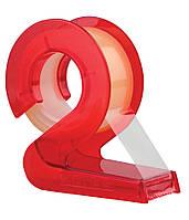 Диспенсер пластиковый KORES 2D с клейкой лентой в блистере 19мм*10м K50629