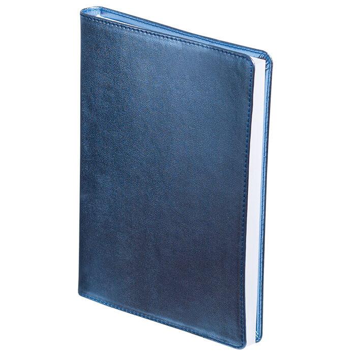 Щоденник недатований METALLIC, A5, 288 стр. синійBM.2033-02